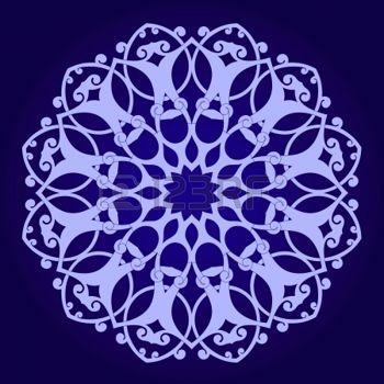 motif marocain: Vecteur de motif persan-arabe islamo-turque traditionnelle