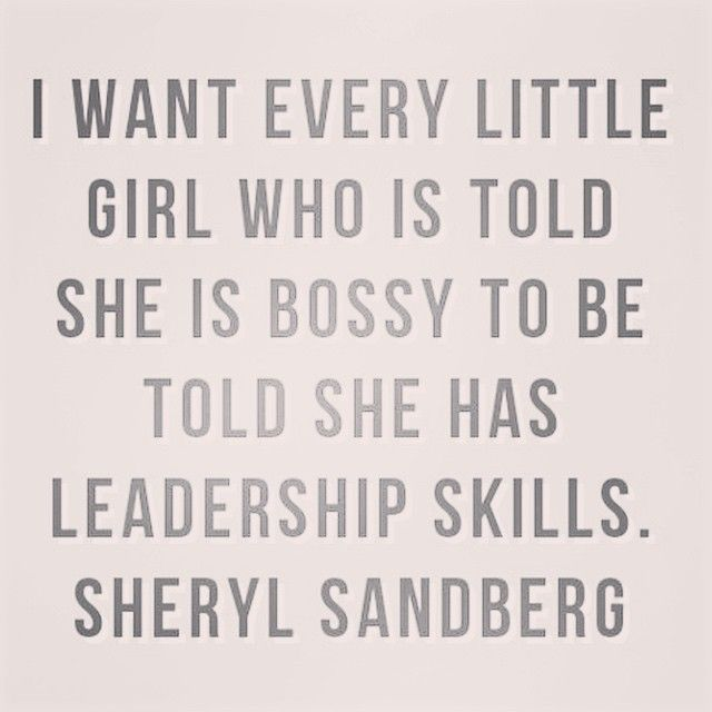 Absolutely. Stubbornness and bossiness aren't negative if they are redirected the right way from a young age. They are what make an average woman great, because she knows what she wants and she isn't afraid of going out herself and getting it.