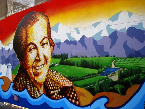 We LOVE chile, MURALES chilenos.