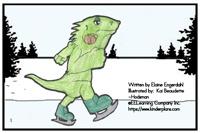 """Alphabet Sight Word Reader  Iguana on Ice - """"Ii"""" Focus Letter"""