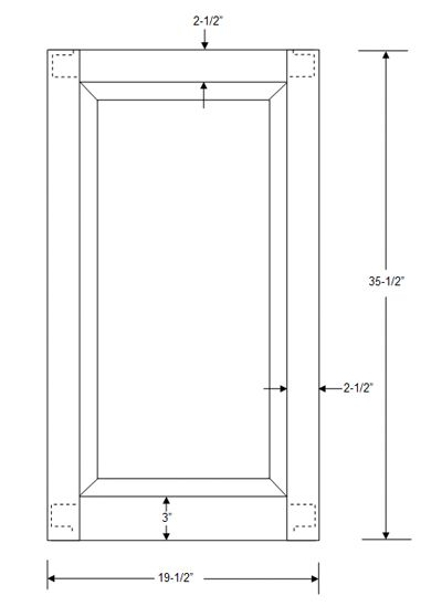 Cabinet Door Panel Dimensions Google Search Autocad