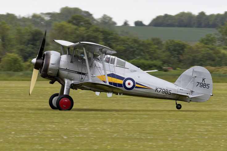 https://flic.kr/p/tJNT8m | Gloster Gladiator K7985 | The Gloster Gladiator (or Gloster SS.37) was a British-built biplane fighter. It was used by the Royal Air Force (RAF) and the Fleet Air Arm (FAA) (as the Sea Gladiator variant) and was exported to a number of other air forces during the late 1930s. It was the RAF's last biplane fighter aircraft and was rendered obsolete by newer monoplane designs even as it was being introduced. Though often pitted against more formidable foes during the…