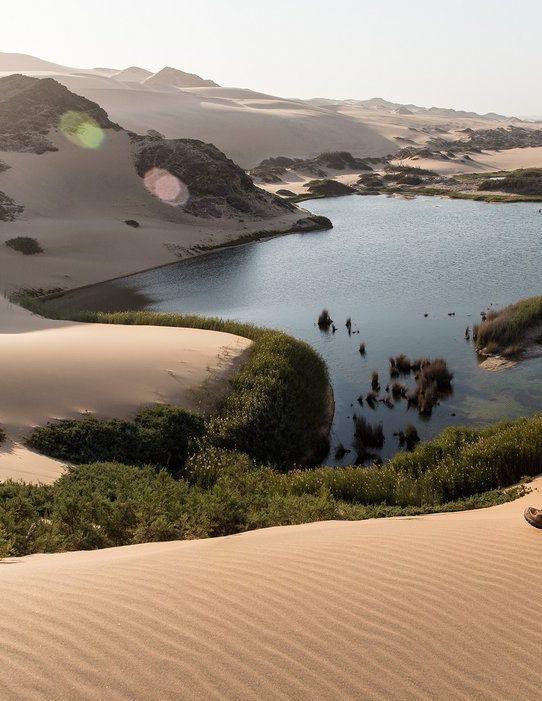 Hoanib Skeleton Coast Camp in Namibia