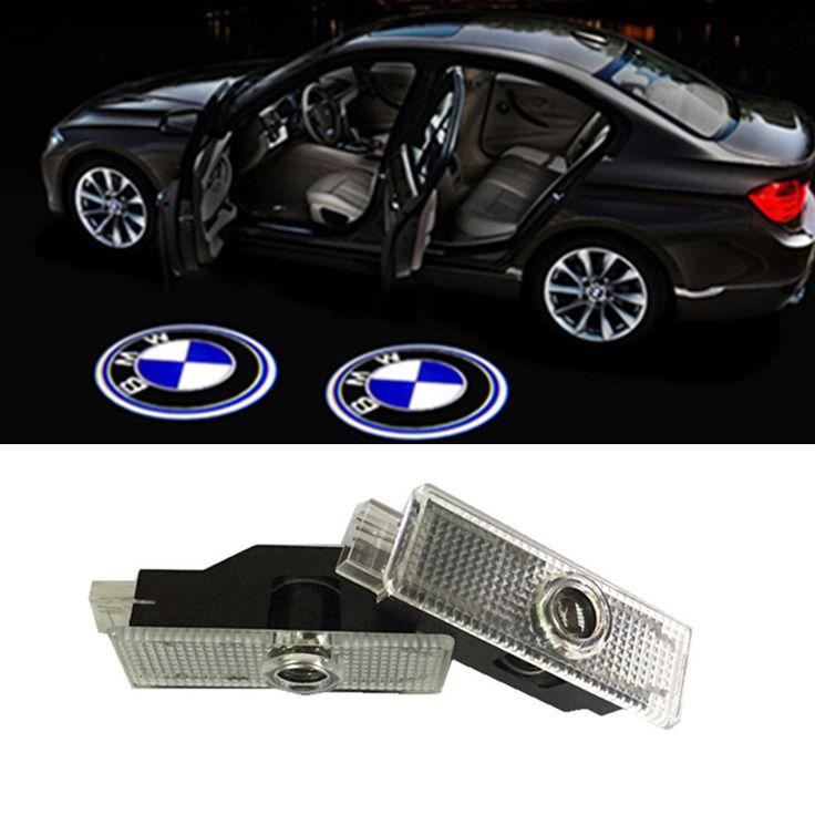 2x LED Предупреждение Двери Свет для bmw логотип проектор Для BMW E60 E90 F10 F15 F16 F30 F01 F02 GT