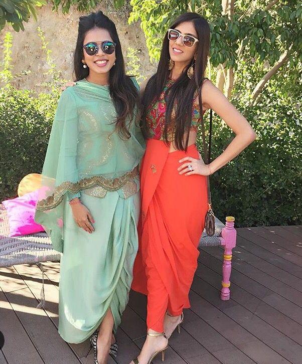 Nishka Lulla # wedding ensembles # perfect day wedding # Indian fashion # draped love