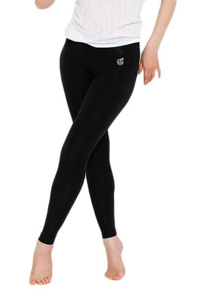 37fae615b75323 Bamboo Essential Legging in Black - Green Apple Active Eco-Friendly  Activewear
