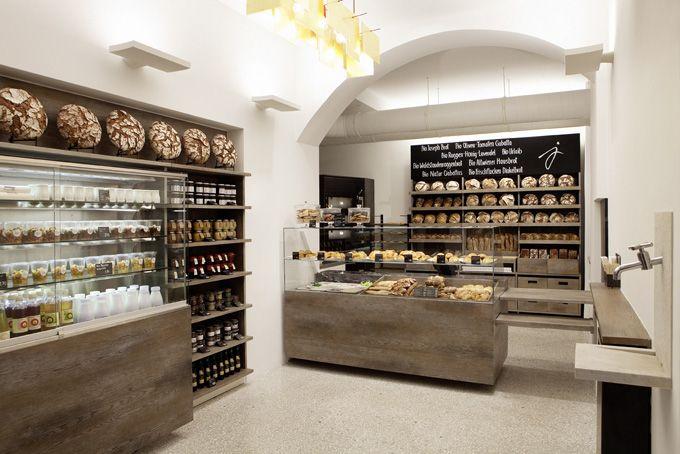 bakery: Brot Vom, Shops Interiors, Stores Design, Breads, Bakeries Design, Joseph Gordon-Levitt, Bakeries Interiors, Storedesign, Design Blog