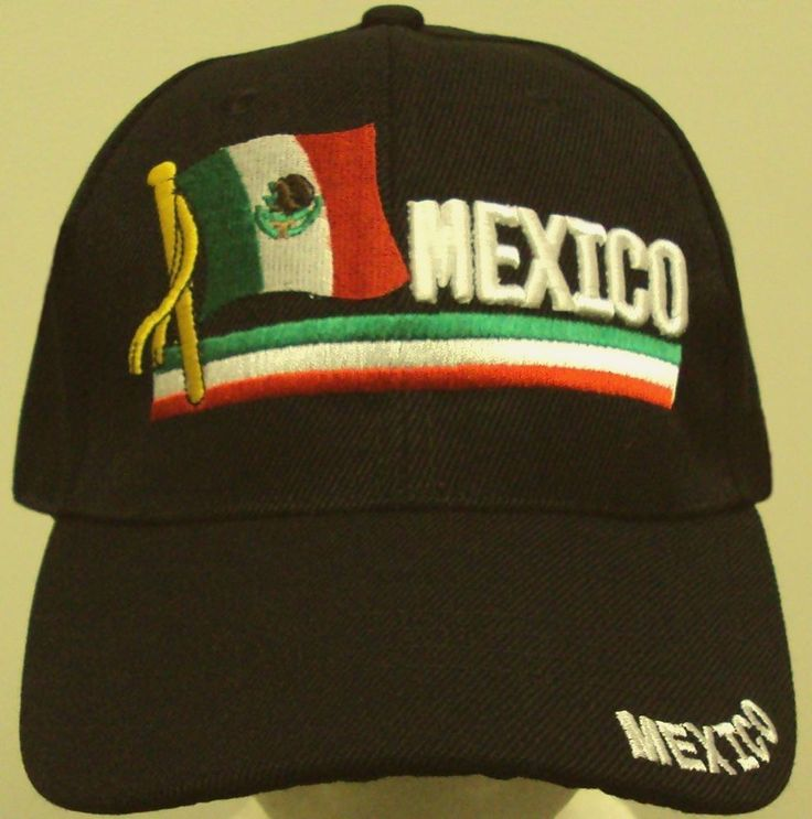 EMBROIDERED MEXICO MEXICAN PRIDE COUNTRY FLAG FIFA WORLD OLYMPIC TEAM CAP HAT OS #FINEPREMIUMQUALITYHATS #BallCap