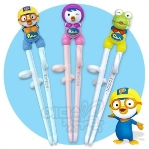 Pororo training chopsticks. @Susan Le @Yen Nguyen need to get these for D!  Heehee