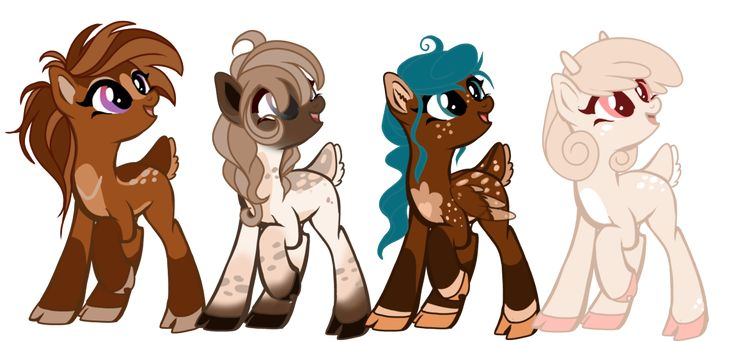 MLP Cerviequus Adopts 1 : CLOSED by Xnvy on DeviantArt