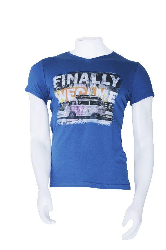 Camisa Hombre Azul Ref. GR0011