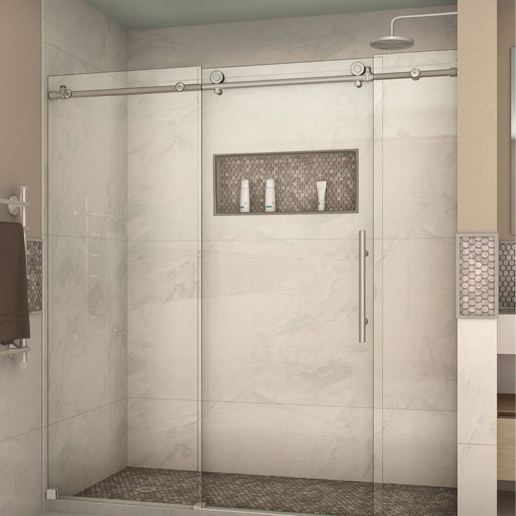 DreamLine Enigma-X 68 - 72 W x 76 H Sliding Shower Door