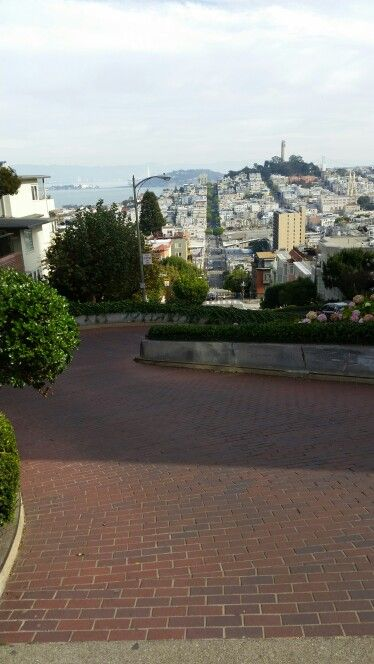 THE hill. Lombard. (Sorry baby)
