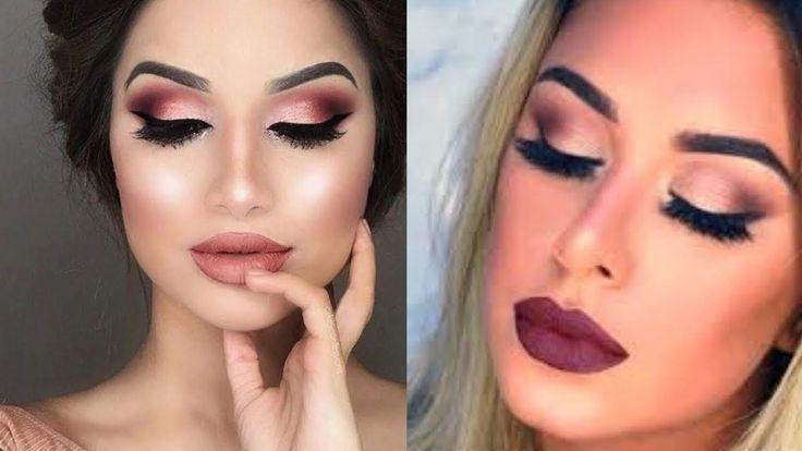 Everyday Natural Fall Makeup Tutorial  Soft Cut Crease Makeup Tutorial F... #cutcreasenatural #softcutcrease