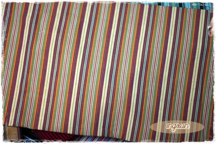 Tenun Lurik, fabric : handwoven 100% cotton, size : 200x120