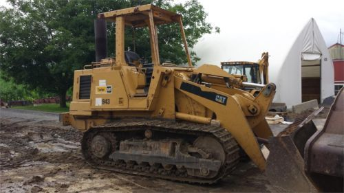 1983 Cat Caterpillar 943 Crawler Track Loader Construction Machine Bulldozer for sale at www.quesalesinc.com for $14,000.00