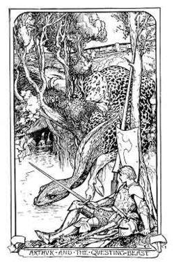Arthur & The Questing Beast