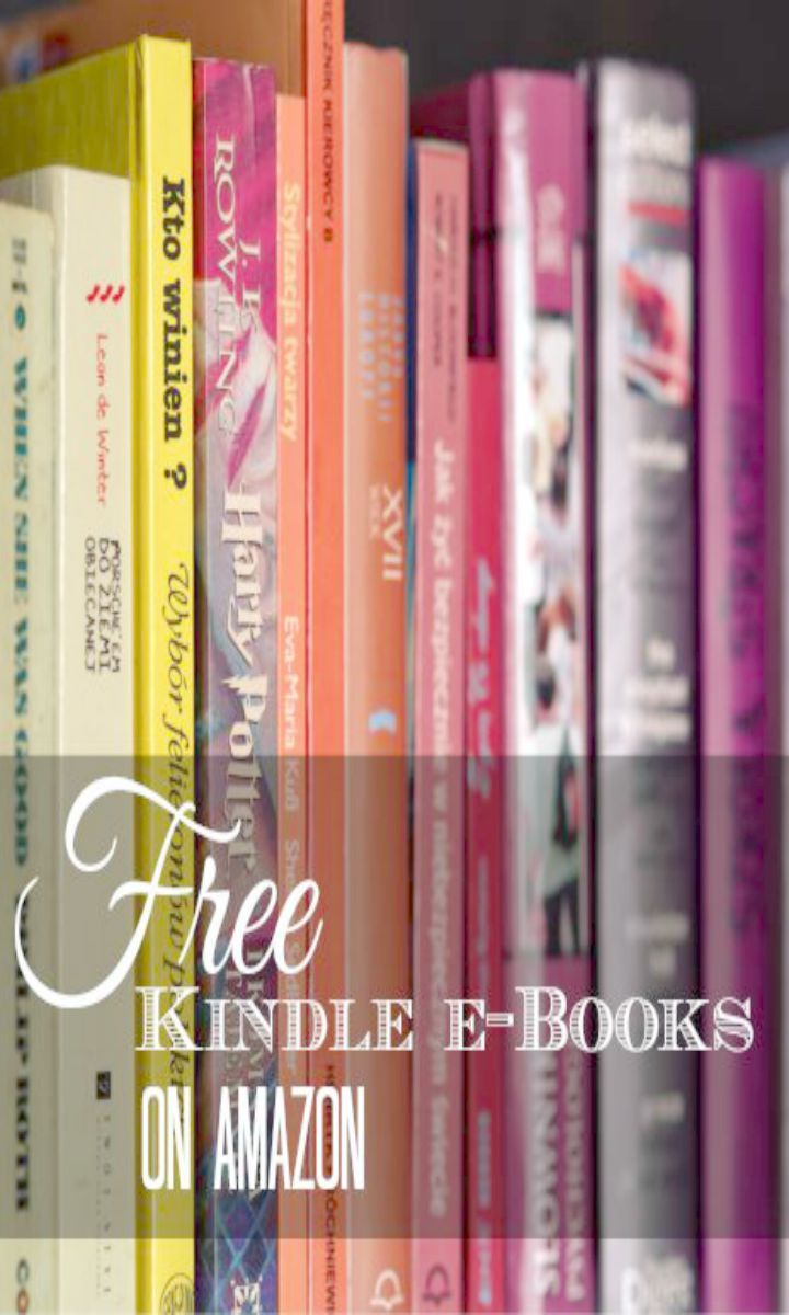 Mmmm, love a free book! This post has several Free Kindle Books from Amazon. Get the best free ebooks for the day in this post including kids books, adult books, popular cookbooks and more. You do not need a Kindle to get these freebies.