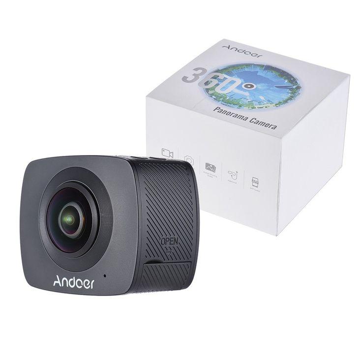Andoer Dual-lens 360 Degree Panoramic Digital Video Sports - Tomtop.com