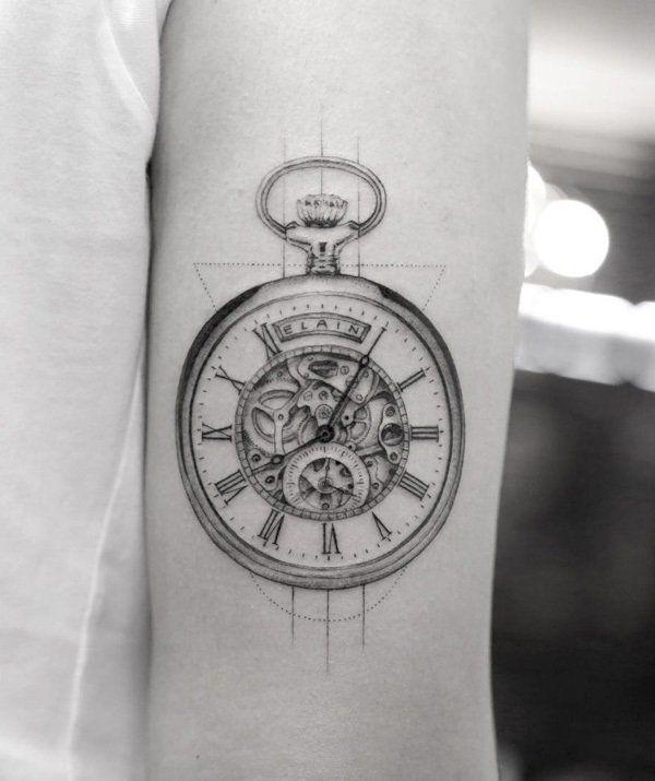 28 Watch Tattoo Designs Ideas: 25+ Best Ideas About Watch Tattoos On Pinterest