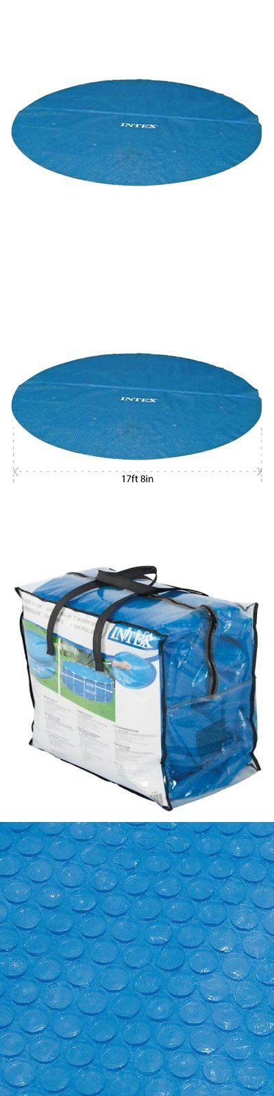 Pool Covers and Rollers 181068: Intex Solar Cover For 18Ft Diameter Easy Set And Frame Pools -> BUY IT NOW ONLY: $44.6 on eBay!