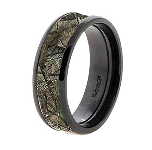Wedding Ring Bands >> Black Tungsten and Camouflage Hunting Rings - All Sizes (10) | Stuff to Buy | Pinterest | Ring ...