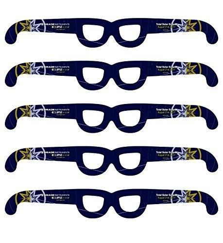 Meade Instruments EclipseView Solar Glasses - 5 Pack (727004)