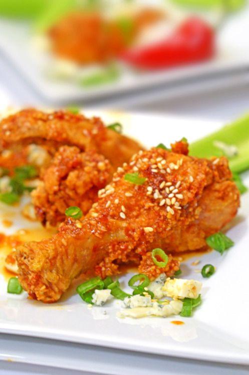 Korean Fried Chicken from Platter Talk Really nice recipes.  Mein Blog: Alles rund um die Themen Genuss & Geschmack  Kochen Backen Braten Vorspeisen Hauptgerichte und Desserts # Hashtag