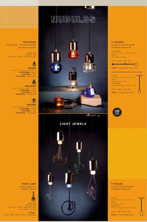 NU_BULBS! Our fantastic light bulbs, TWIST LAMP and CRYSTALED.