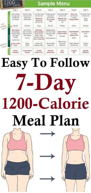 1200 calorie meal