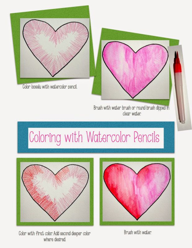 Watercolor Pencils Tutorial Deviantart Watercolor Pencils Tutorial