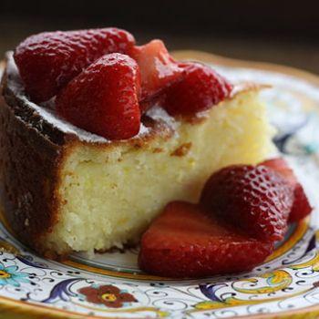 Lemon Ricotta Cake Recipe - Italian Food Forever sub out the flour, maybe coconut flour