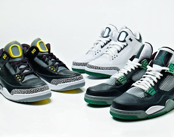 Here is a look via DJCK at the Air Jordan III & IV