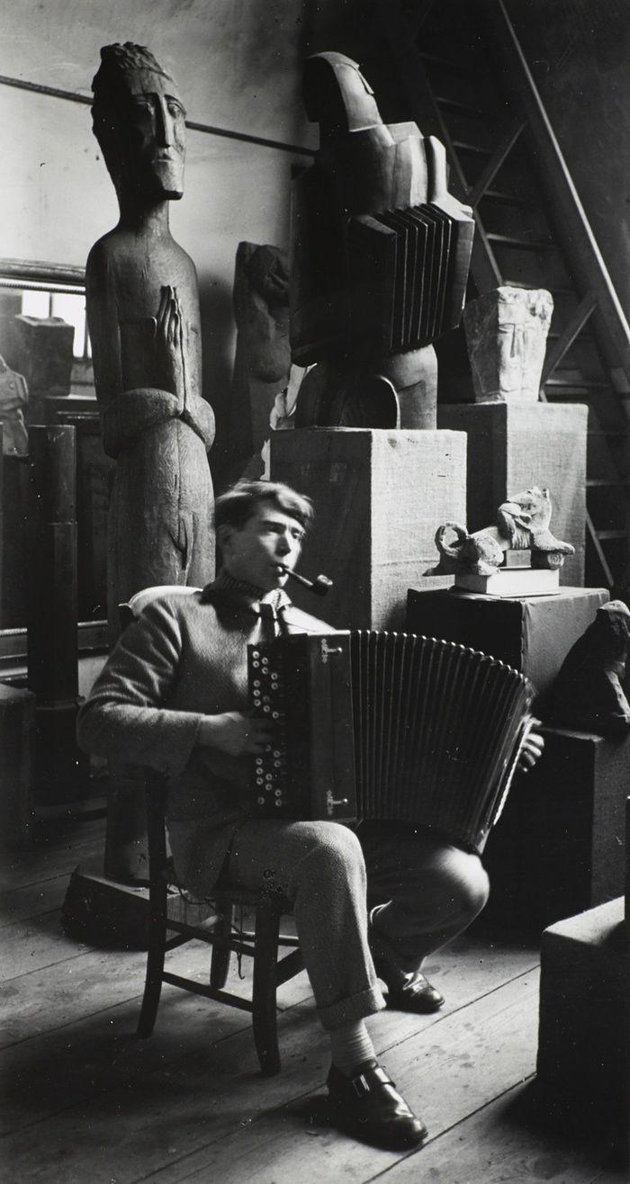Portrait of Ossip Zadkine, Paris, 1926.