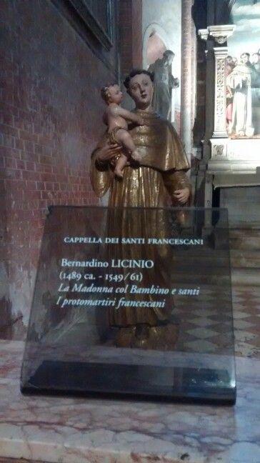 Basílica Sta Maria Gloriosa dei Frari/ Veneza IT 01/2016