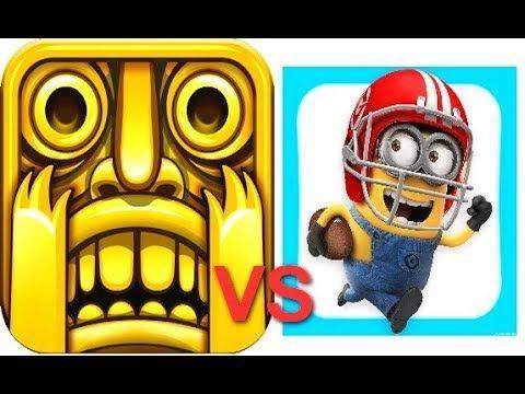 Despicable Me: Minion Rush VS Temple Run
