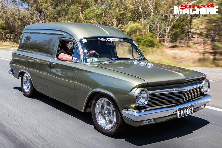 Holden -EH-Panel -Van -onroad -front