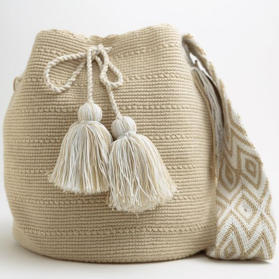 Fair-trade Handmade Wayuu Boho Bags
