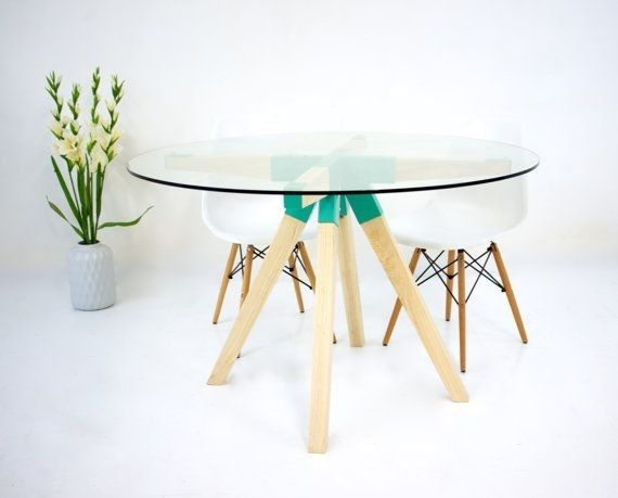 Cheap Round Glass Coffee Table A Coffee Table Otherwise Known As As Cocktail Table Is Often A Lo Coffeetables Homedecorideas Homedecor See More At Htt Di 2020