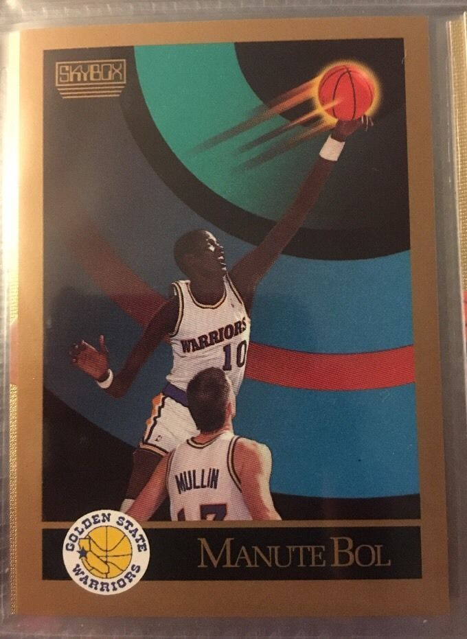 1990 Skybox Basketball Manute bol 94 Golden State Near Mint Combined s Amp H | eBay