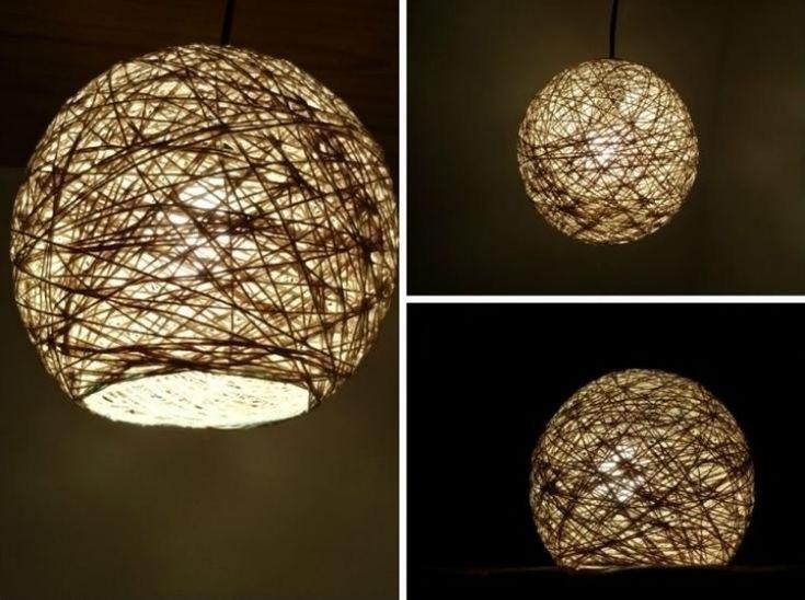 videoanleitung lampenschirm aus schur basteln diy und selbermachen pinterest. Black Bedroom Furniture Sets. Home Design Ideas