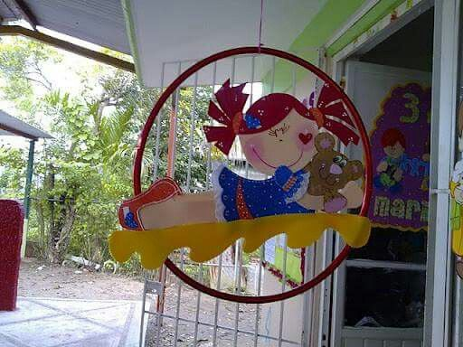 Decoración con hula hula 1