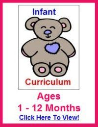 Infant    Curriculum Lesson Plans With Fun Daily Activities!