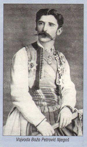 voivod from montenegrian-ottoman war