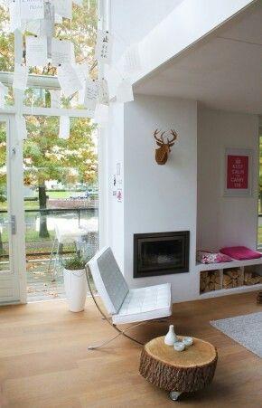 Meer dan 1000 idee n over witte open haard op pinterest open haarden schoorsteenmantels en - Witte meubels en rode ...