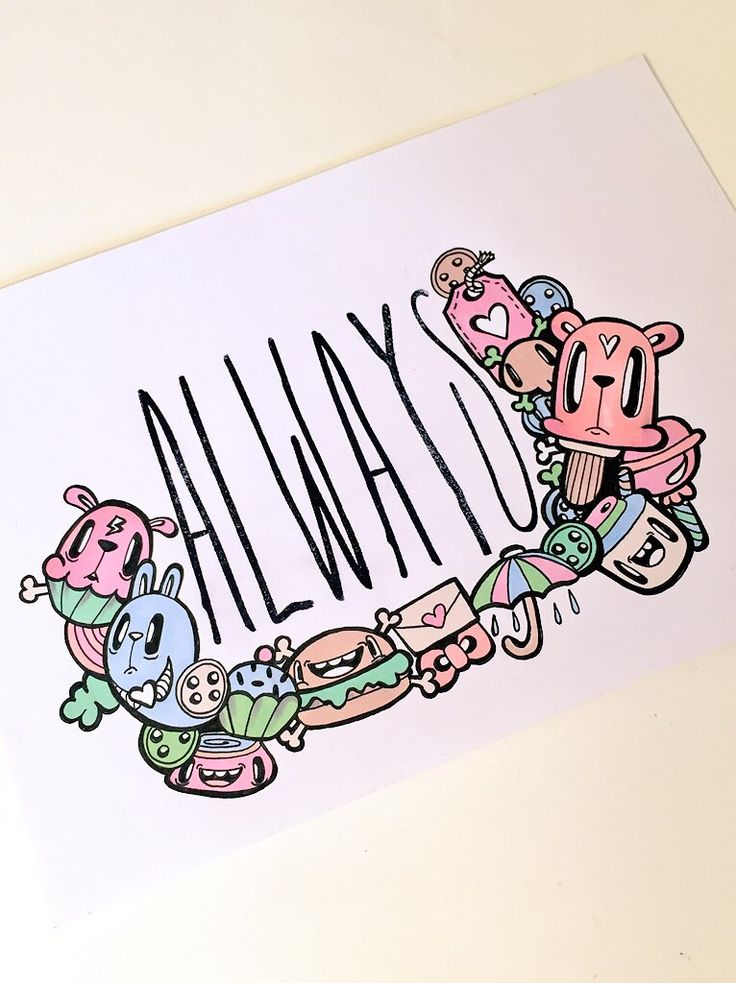 Always original doodle by Miss Wah Instagram: @lil_wah misswah.com http://facebook.com/littlemisswah