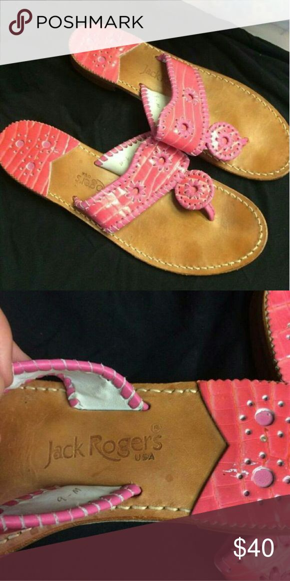 Jack Rogers sandals Size 9 used a few time Jack Rogers Shoes