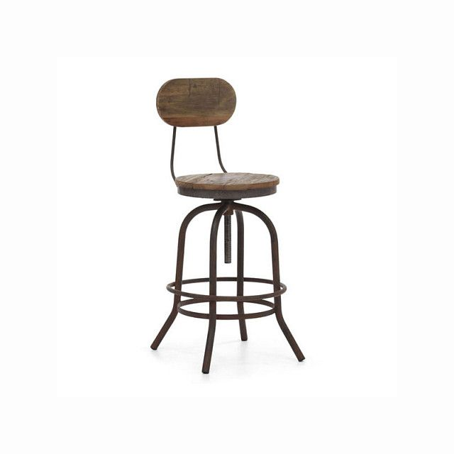 Zuo Twin Peaks Counter Chair