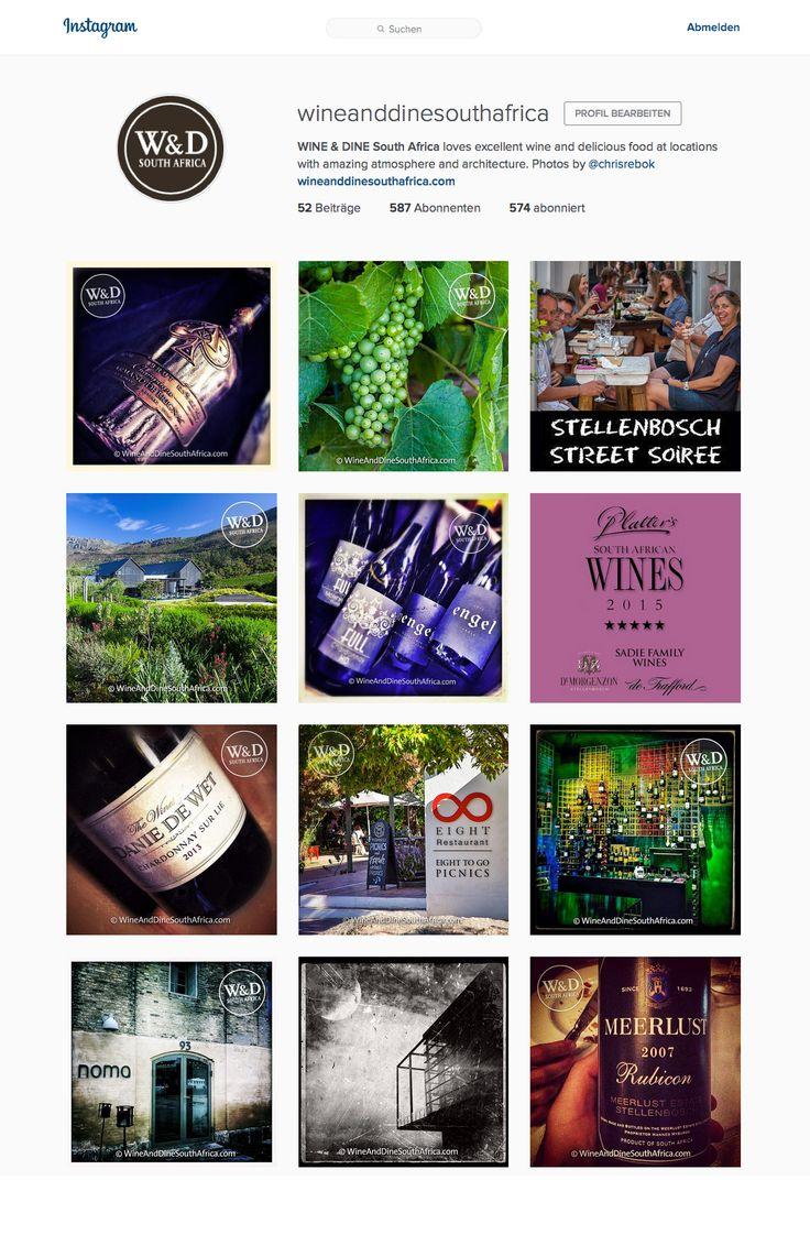 WINE & DINE South Africa on instagram