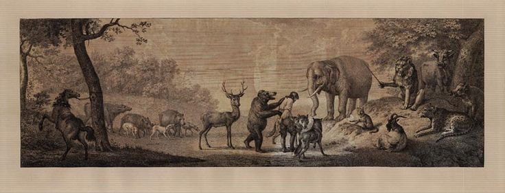 Johann Heinrich Wilhelm Tischbein: Das Gericht der Tiere